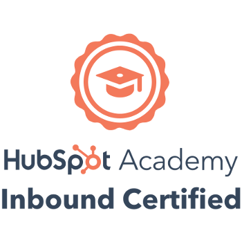 HubSpot Inbound Marketing Certified 2019