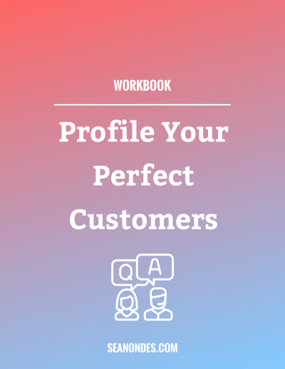 Website - Workbooks - Profile Your Perfect Customers